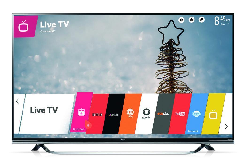 """TELEVISOR LG LED SMART UHD 49"""" UF8500"""