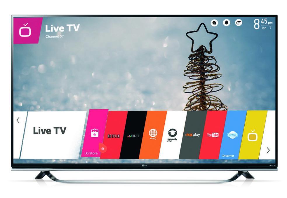 """TELEVISOR LG LED SMART UHD 55"""" UF8500"""