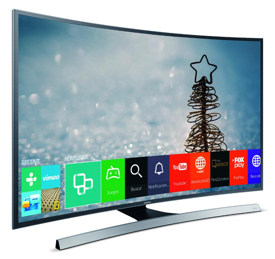 "TELEVISOR SAMSUNG LED CURVO SMART UHD 55"" JU6700"