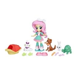 Equestria Girls Minis Fluttershy Spa de mascotas