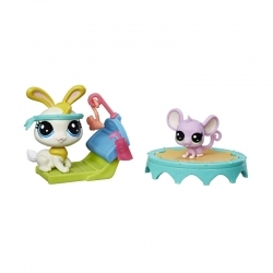Littlest Pet Shop Amigos De Gimnasio