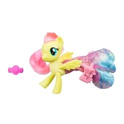 My Little Pony Figura Ponysirena con Accesorios Fluttershy