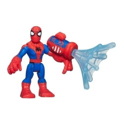 Marvel Super Hero Adventures Figura con Accesorios Spiderman