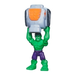 Marvel Super Hero Adventures Figura con Accesorios Hulk