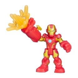 Marvel Super Hero Adventures Figura con Accesorios Iron Man