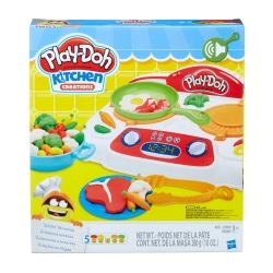 Play Doh Kitchen Creaciones a la Sartén