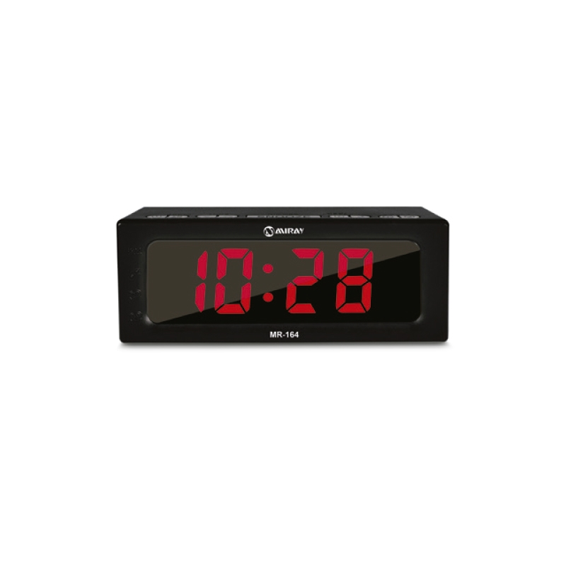 MIRAY RADIO RELOJ DESPERTADOR MR 164
