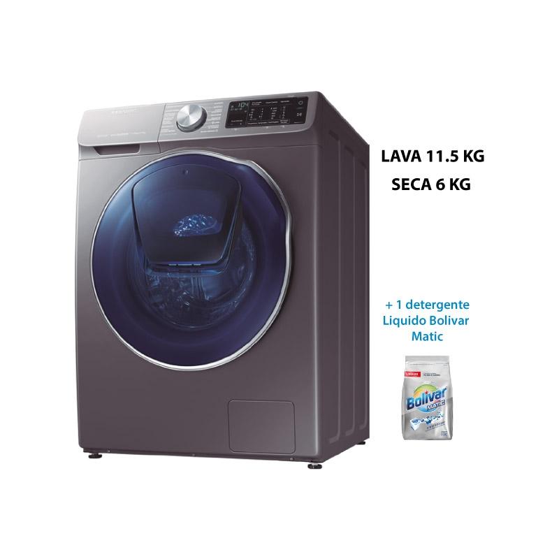 SAMSUNG LAVASECA WD11N64FOOX PE + BOLIVAR MATIC DETERGENTE LIQUIDO