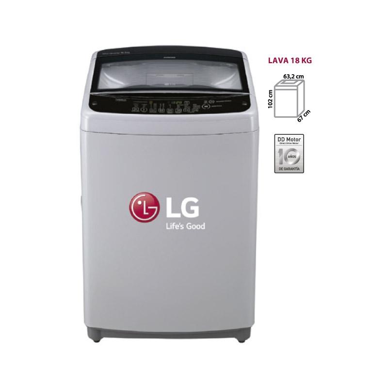 LG LAVADORA TS1806NV INOX