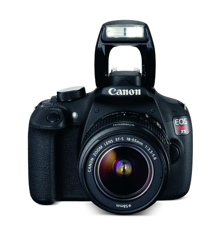 CÁMARA CANON EOS T5 18-55MM KIT+SD 8GB